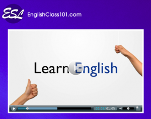 learn English online with Englishclass101