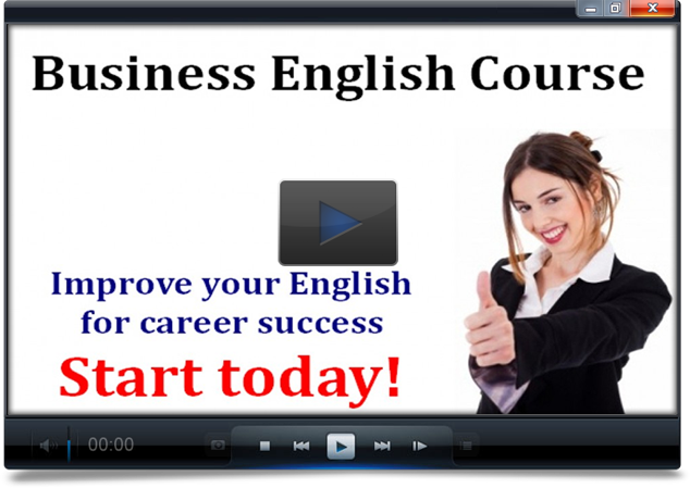 business english course video Business English Course Download