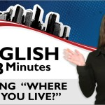 English Class Lesson 06 Where Do You Live