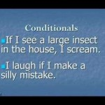 Grammar Lesson 2a. Conditionals