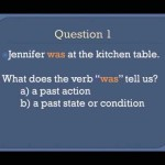 Grammar Lesson 3b. The Simple Past Tense