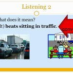 Learning English Vocabulary Lesson 20 Taking a Road Trip