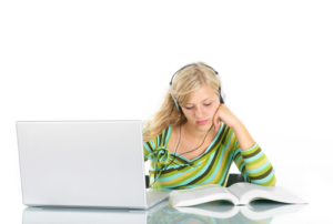 visual and audio English learning