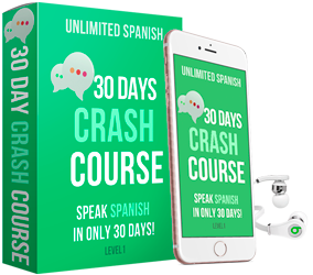 unlilmited spanish course 30 days